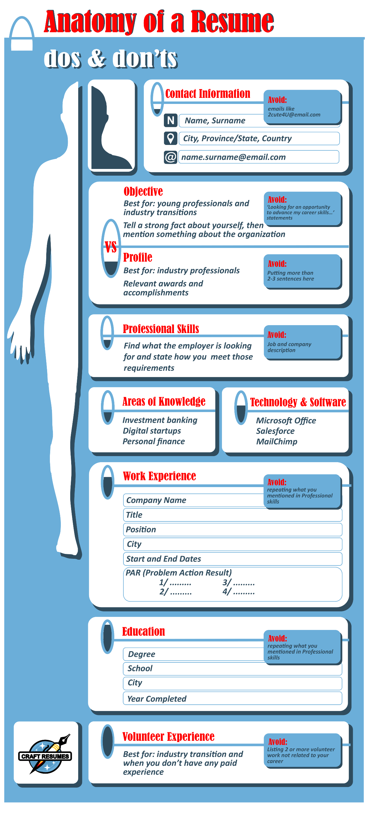 the anatomy of a perfect resume