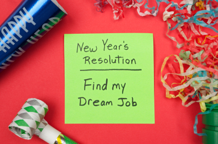 New Years Resolution: Find Dream Job